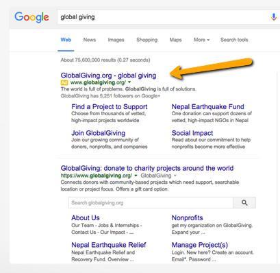 Google Ad Grants For Non-Profit Organizations